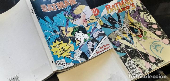 Cómics: comic zinco batman año 3 completa 4 tomos numeros 1 a 20 de mike w. barr y alan davis - Foto 7 - 199096252