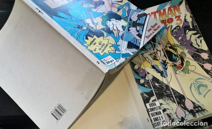 Cómics: comic zinco batman año 3 completa 4 tomos numeros 1 a 20 de mike w. barr y alan davis - Foto 8 - 199096252