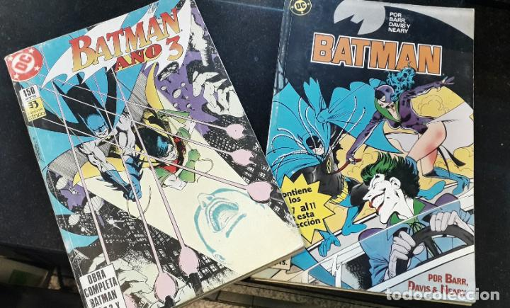 Cómics: comic zinco batman año 3 completa 4 tomos numeros 1 a 20 de mike w. barr y alan davis - Foto 9 - 199096252
