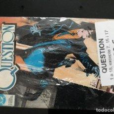 Cómics: QUESTION. Lote 199322915