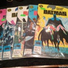 Comics: BATMAN, NÚMEROS 12,13,15,16 Y 17, EDC. ZINCO, 1983. Lote 199402176