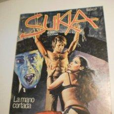 Cómics: SUKIA Nº 5. LA MANO CORTADA. DRAMA DE AMOR. 1983 (ESTADO NORMAL). Lote 199444872