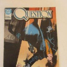 Cómics: QUESTION - Nº 1 - ZINCO BUEN ESTADO MUCHOS MAS A LA VENTA, MIRA TUS FALTAS C50. Lote 199445237