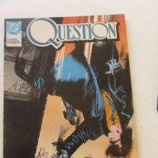 Cómics: QUESTION - Nº 1 - ZINCO BUEN ESTADO MUCHOS MAS A LA VENTA, MIRA TUS FALTAS C50. Lote 199445243