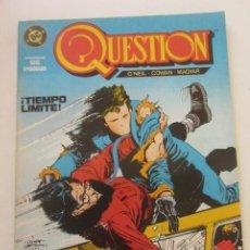 Cómics: QUESTION - Nº 3 ZINCO BUEN ESTADO MUCHOS MAS A LA VENTA, MIRA TUS FALTAS C50. Lote 199445292