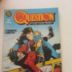Cómics: QUESTION - Nº 3 ZINCO BUEN ESTADO MUCHOS MAS A LA VENTA, MIRA TUS FALTAS C50. Lote 199445305
