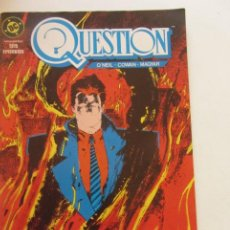 Cómics: QUESTION - Nº 4 ZINCO BUEN ESTADO MUCHOS MAS A LA VENTA, MIRA TUS FALTAS C50. Lote 199445312