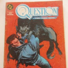 Cómics: QUESTION - Nº 7 ZINCO MUCHOS MAS A LA VENTA, MIRA TUS FALTAS C50. Lote 199445341