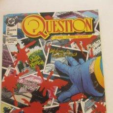 Cómics: QUESTION - Nº 10 ZINCO BUEN ESTADO MUCHOS MAS A LA VENTA, MIRA TUS FALTAS C50. Lote 199445538