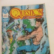 Cómics: QUESTION - Nº 13 ZINCO BUEN ESTADO MUCHOS MAS A LA VENTA, MIRA TUS FALTAS C50. Lote 224736062