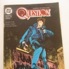 Cómics: QUESTION - Nº 15 ZINCO MUCHOS MAS A LA VENTA, MIRA TUS FALTAS C50. Lote 199453273