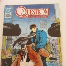 Cómics: QUESTION - Nº 16 ZINCO MUCHOS MAS A LA VENTA, MIRA TUS FALTAS C50. Lote 199453315