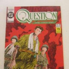 Cómics: QUESTION - Nº 32 ZINCO BUEN ESTADO MUCHOS MAS A LA VENTA, MIRA TUS FALTAS C50. Lote 199453616