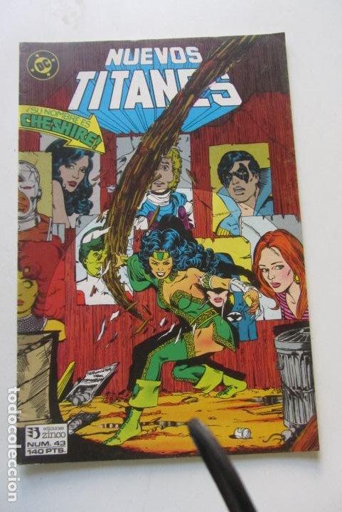 NUEVOS TITANES VOL I Nº 43 1986 ZINCO MUCHOS MAS A LA VENTA , MIRA TUS FALTAS CS218 (Tebeos y Comics - Zinco - Nuevos Titanes)