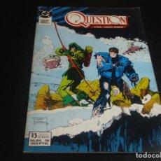 Comics: QUESTION 18 ZINCO. Lote 199865646