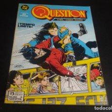 Cómics: QUESTION 3 ZINCO. Lote 199865916