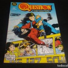 Cómics: QUESTION 3 ZINCO. Lote 199866307