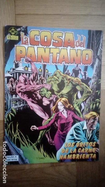 LA COSA DEL PANTANO Nº 5 VOL. 1 ZINCO (Tebeos y Comics - Zinco - Cosa del Pantano)
