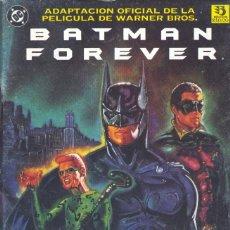 Cómics: BATMAN FOREVER. ADAPTACIÓN DE LA PELÍCULA. EDICIONES ZINCO, 1995 . Lote 200169048