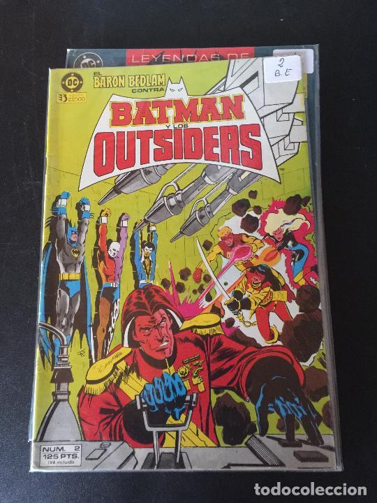 ZINCO DC BATMAN Y LOS OUTSIDERS NUMERO 2 NORMAL ESTADO (Tebeos y Comics - Zinco - Batman)