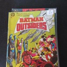 Comics: ZINCO DC BATMAN Y LOS OUTSIDERS NUMERO 2 NORMAL ESTADO. Lote 200253866