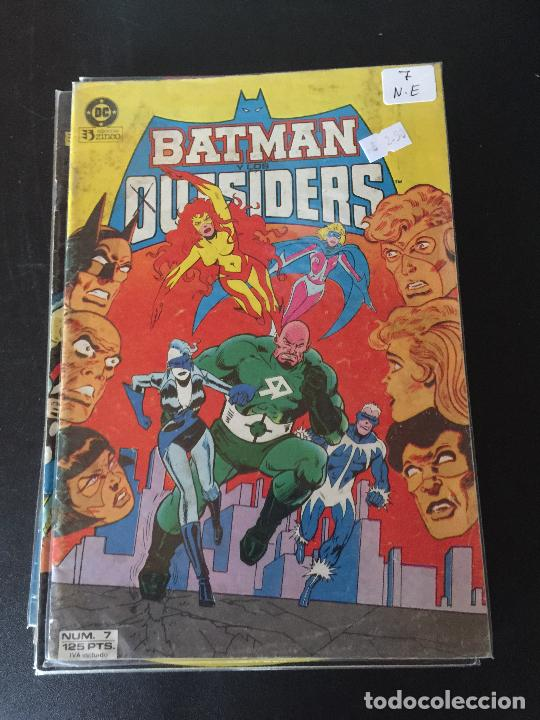 ZINCO DC BATMAN Y LOS OUTSIDERS NUMERO 7 NORMAL ESTADO (Tebeos y Comics - Zinco - Batman)