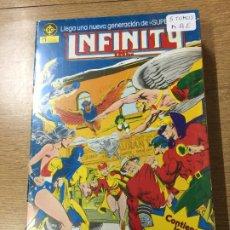 Comics: ZINCO DC INFINITY TOMOS 1 Y 5 MUY BUEN ESTADO NUMEROS DEL 1 AL 22. Lote 200619753