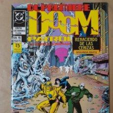 Cómics: LA PATRULLA CONDENADA DC PREMIERE Nº 15 DOOM PATROL. ZINCO DC CÓMICS. Lote 200817725
