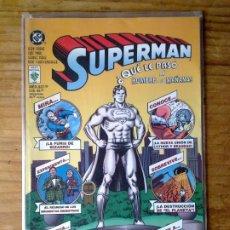 Comics : SUPERMAN: ¿QUE LA PASÓ AL HOMBRE DEL MAÑANA? - ED. VID / DC. Lote 200829961