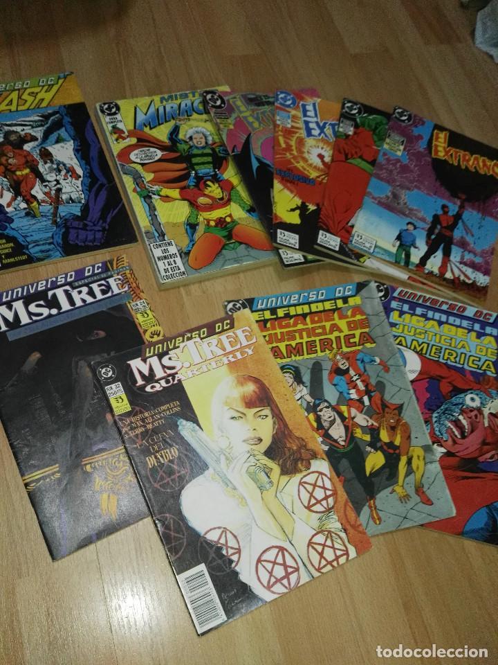 LOTE ZINCO (L.J.A., MISTER MIRACLE, MS. TREE..) (Tebeos y Comics - Zinco - Otros)