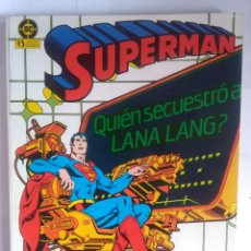 Cómics: SUPERMAN TOMO 7 - NUMEROS 31 AL 34 ZINCO. Lote 202085627