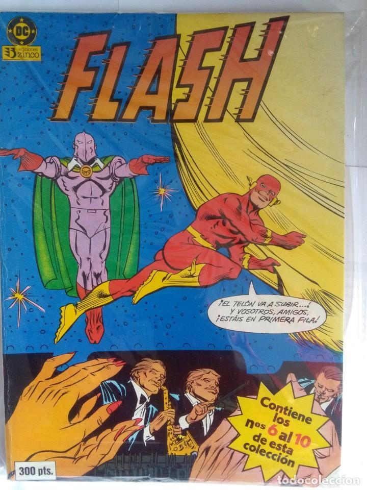 FLASH TOMO 2 - NUMEROS 6 AL 10 ZINCO (Tebeos y Comics - Zinco - Retapados)
