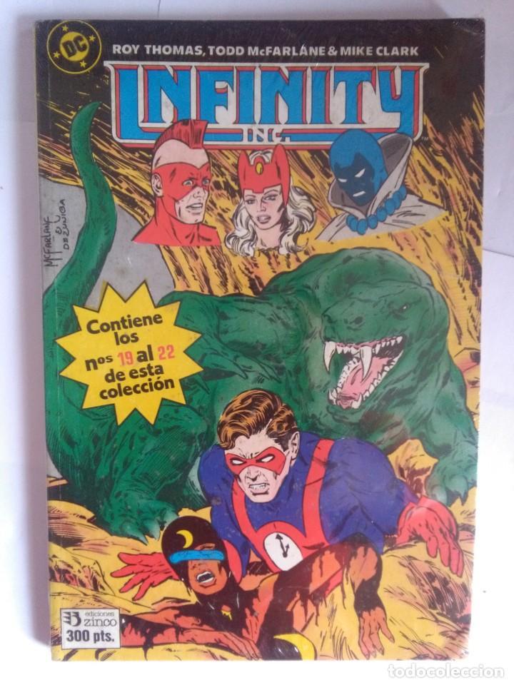 INFINITY INC 19 AL 22 (Tebeos y Comics - Zinco - Infinity Inc)