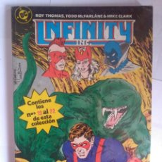 Comics: INFINITY INC 19 AL 22. Lote 202086607