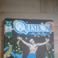 Cómics: QUESTION -RETAPADO NÚMEROS 6 AL 10 -(ZINCO 1988). Lote 198356261