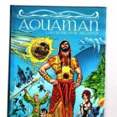 Cómics: AQUAMAN : LAS CRONICAS DE ATLANTIS - ECC / DC TAPA DURA / PETER DAVID & ESTEBAN MAROTO. Lote 188522320
