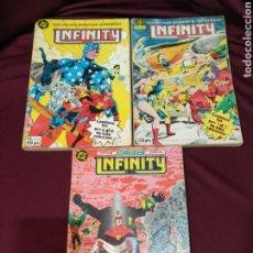 Cómics: INFINITY, TOMO 1,2 Y 4, DEL NÚMERO 1 AL 10 Y DEL 15 AL 18, ZINCO, DC. Lote 202944260