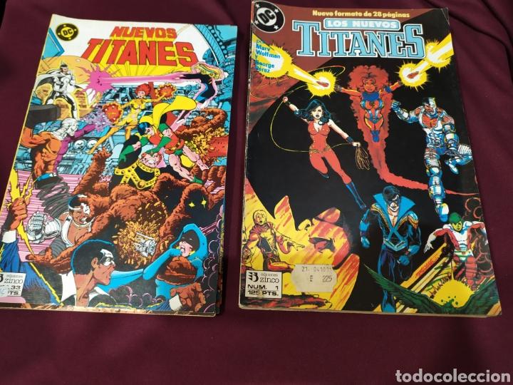 20 COMICS NUEVOS TITANES. ZINCO (Tebeos y Comics - Zinco - Nuevos Titanes)