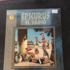 Comics: ZINCO EDICIONES EPIKURUS EL SABIO COMPLETA 2 NUMEROS MUY BUEN ESTADO. Lote 202951662