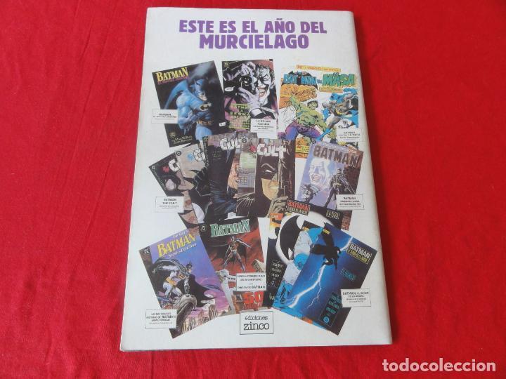Cómics: BATMAN. FIEL ADAPTACION AL COMIC DEL FILM DE WARNER BROSS. ZINCO-DC COMICS. 1989. C-42 - Foto 2 - 203023376