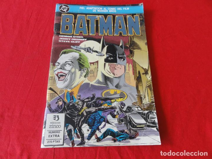 BATMAN. FIEL ADAPTACION AL COMIC DEL FILM DE WARNER BROSS. ZINCO-DC COMICS. 1989. C-42 (Tebeos y Comics - Zinco - Cosa del Pantano)