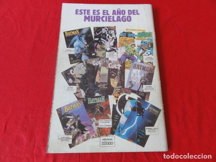Cómics: BATMAN. FIEL ADAPTACION AL COMIC DEL FILM DE WARNER BROSS. ZINCO-DC COMICS. 1989. C-42 - Foto 2 - 203023806