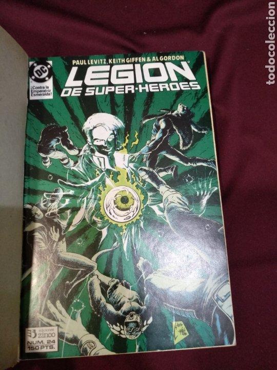 Cómics: Legión de super héroes, Zinco, vol.5. contiene del 24 al 28. - Foto 2 - 203028561
