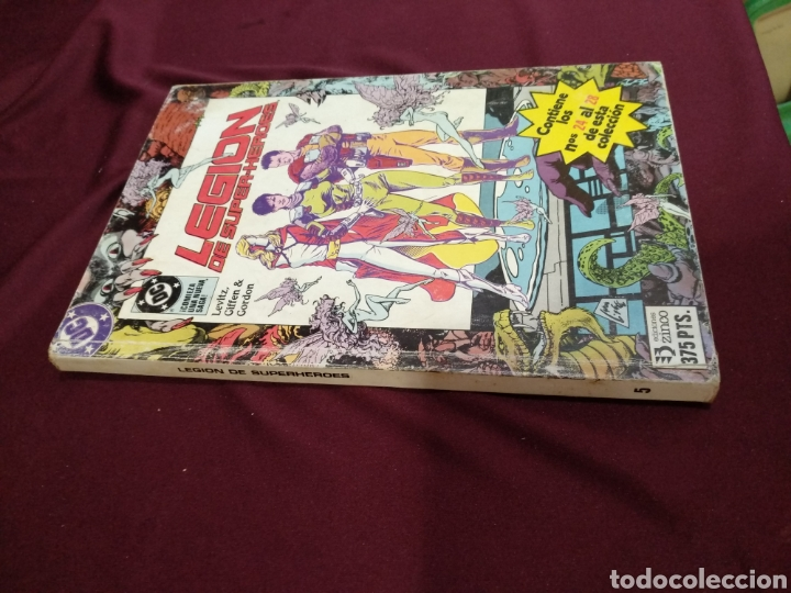 Cómics: Legión de super héroes, Zinco, vol.5. contiene del 24 al 28. - Foto 3 - 203028561