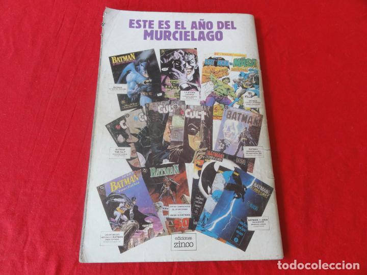 Cómics: BATMAN. FIEL ADAPTACION AL COMIC DEL FILM DE WARNER BROSS. ZINCO-DC COMICS. 1989. C-42 - Foto 2 - 203029767