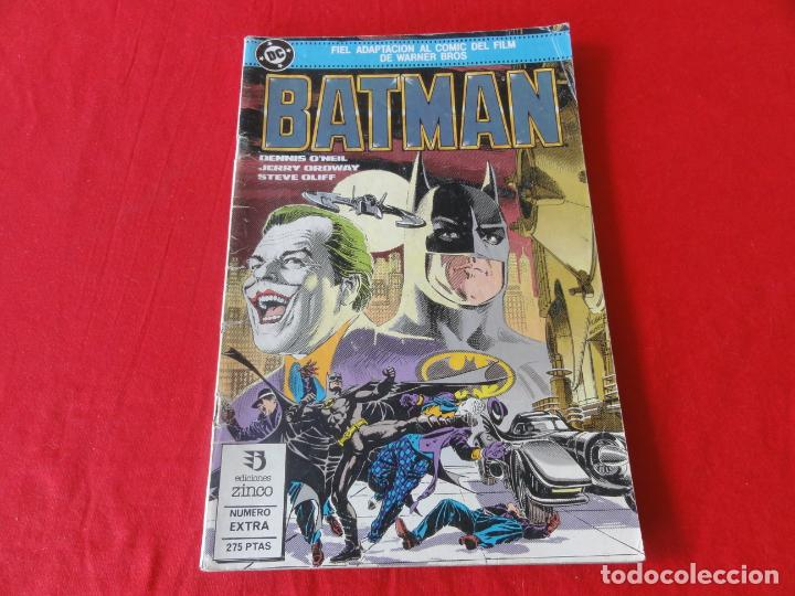 Cómics: BATMAN. FIEL ADAPTACION AL COMIC DEL FILM DE WARNER BROSS. ZINCO-DC COMICS. 1989. C-42 - Foto 1 - 203029767