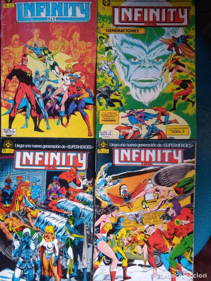 INFINITY INC POR ROY THOMAS, JERRY ORDWAY Y TODD MCFARLANE (COMPLETA) (Tebeos y Comics - Zinco - Infinity Inc)