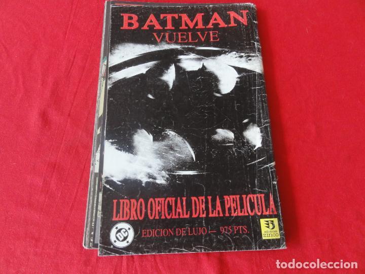 Cómics: BATMAN VUELVE. FIEL ADAPTACION AL COMIC DEL FILM DE WARNER BROSS. TOMO ZINCO-DC COMICS. 1992. C-42 - Foto 2 - 203055401