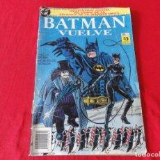 Cómics: BATMAN VUELVE. FIEL ADAPTACION AL COMIC DEL FILM DE WARNER BROSS. TOMO ZINCO-DC COMICS. 1992. C-42. Lote 203055401
