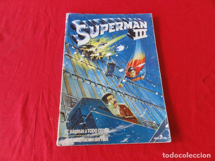 Cómics: SUPERMAN III. FIEL ADAPTACION AL COMIC DEL FILM . ZINCO-DC COMICS. 1983. C-42 - Foto 1 - 240383120